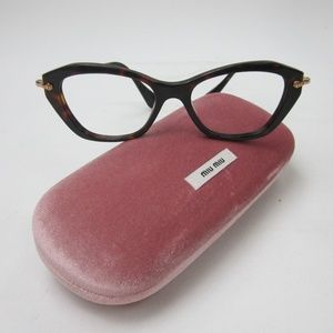 32bd4eb1f1f2 Miu Miu Accessories - Miu Miu VMU 04L 2AU-1O1 Eyeglasses  Italy OLG417